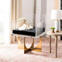 Lounge Chair Mid Century Modern Modern Acrylic Square Arm Se