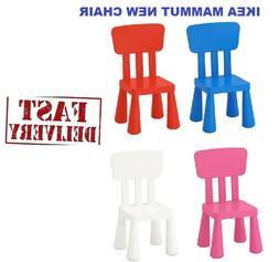 IKEA MAMMUT CHILDREN'S CHAIR/STOOL INDOOR/OUTDOOR Colours &