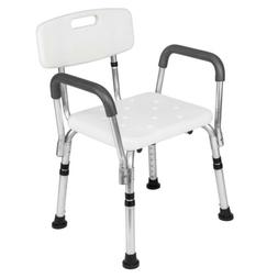 Medical Shower Bath Chair Adjustable Bench Stool Seat w/Deta