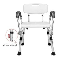 Medical Shower Chair Adjustable Height Bath Tub Bench Stool