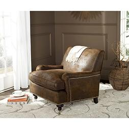 Safavieh Mercer Collection Chloe Club Chair, Brown