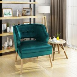 Michaela Mid Century Velvet Accent Chair