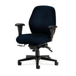 7800 Series Mid-Back Task Chair with Arms Fabric: Mariner