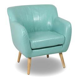 Mid-Century Modern Living Room Accent Chair Club Chair Singl