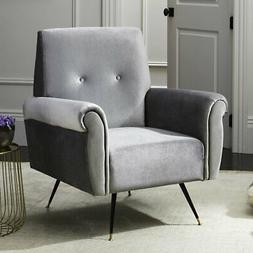 Safavieh Mira Retro Mid-Century Velvet Accent Chair