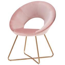 Duhome Modern Accent Home Office Chair Velvet Cushion for Li