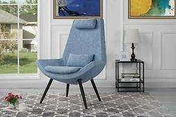 Modern Contemporary Fabric Living Room Accent Chair