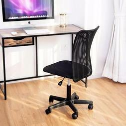 Modern Mesh Mid-Back Armless Swivel Office Task Chair