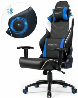 GTRACING Music Gaming Chair with Bluetooth Speaker Audio Rac