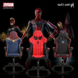 Licensed Marvel Gaming Chair Ergonomic Neck Lumbar Support V