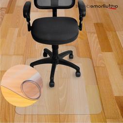 New 10 Types Chair Floor Mat Carpet Protector Rug PVC Hard P