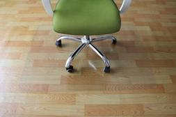"""New 59"""" x 48"""" PVC Chair Floor Mat Home Office Protector For"""