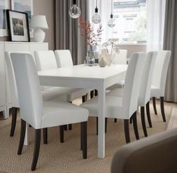 New IKEA HENRIKSDAL Chair Cover Slipcover Grasbo White 203.3