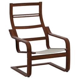 NEW IKEA POANG Brown Oak Veneer Armchair FRAME Chair *NO CUS