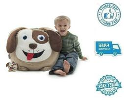 New Small Bean Bag Chair Buddy Puppy Dog Stuffed Soft Lounge
