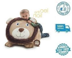 New Small Buddy Bean Bag Chair Lion Stuffed Soft Polyester A