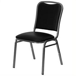 Flash Furniture HERCULES Series Stacking Banquet Chair in Bl