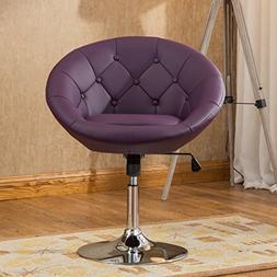 Noas Contemporary 360 deg. Swivel Accent Chair