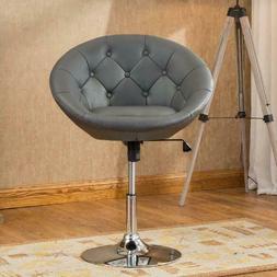 Roundhill Furniture Noas Contemporary Round Tufted Back Tilt