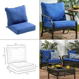 Greendale Home Fashions Deep Seat Cushion Set, Marine