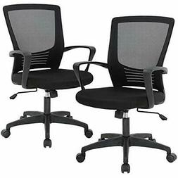 Office Chair Desk Computer Swivel Rolling Executive Lumbar S