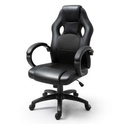 PU Leather High Back Executive Office Chair Ergonomic Comput