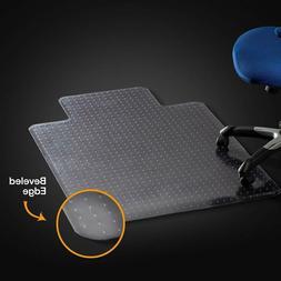 Office Chair Mat for Carpeted Floors, Studded Desk Floor Mat