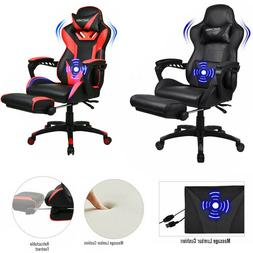 Gaming Chair Racing Video Massage Support Ergonomic Computer