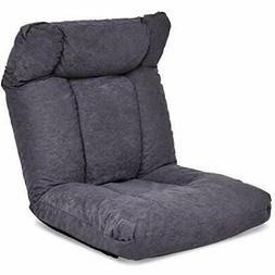 Padded Floor Chair With Adjustable Backrest And Headrest, Fo