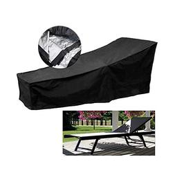 Fellie Cover 82-inch Patio Chaise Lounge Covers, Durable Out