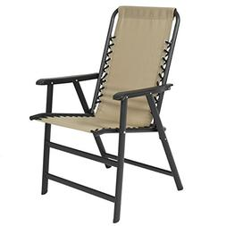 Best Choice Products Patio Lounge Suspension Folding Chair O