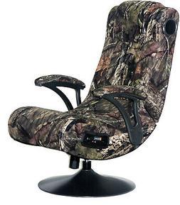 PC Gaming Chair Camo Best Game X Rocker Seat Pedestal Foldin
