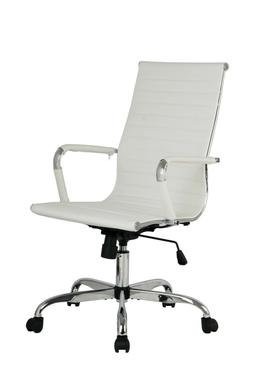 "PU Leather Office Chair Ergonomic 26.5"" High Back Executive"