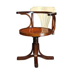 Purser's Wood Swivel Chair