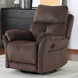 Push Back Recliner Chair Gray Cushion Lazy Boy Overstuffed S