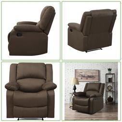 Push Back Recliner Single Chair Seat Foam Cushion Indoor Liv