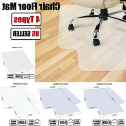 PVC Office Chair Desk Anti-slip Mat Protector For Wood Floor
