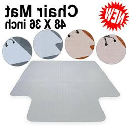 PVC Protection Hard Floor/Carpet Mat Studded With Lip For Ho
