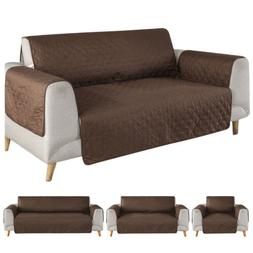 quilted reversible waterproof sofa cover chair couch