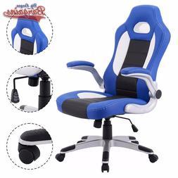 Racer Gaming Chair Racing Bucket Seat Ergonomic Computer Swi