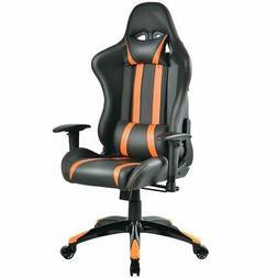 Giantex Racing High Back Reclining Gaming Chair Ergonomic Co