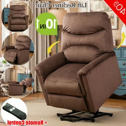 Recliner Chair Manual Armchair Padded Lounge Sofa Living Roo