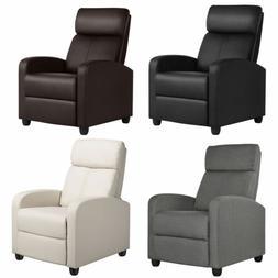 Recliner Chair Single Modern Reclining Sofa  Home Theater Se