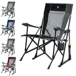GCI Outdoor RoadTrip Rocker Chair Camping Folding Rocking Po