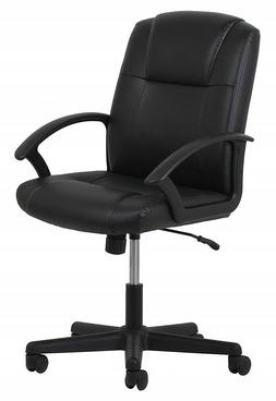 Rolling Office Chair With Wheels Back Support For Computer D