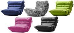 Big Joe Roma Bean Bag Chair Game Room Dorm Kids Lounge Multi