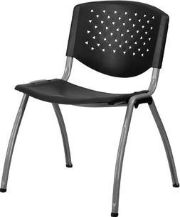 Flash Furniture HERCULES Series 880 lb. Capacity Black Plast