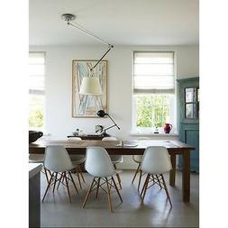 Set of 2 Eiffel Side Chair Wood Dowel Base - 7 Colors Availa