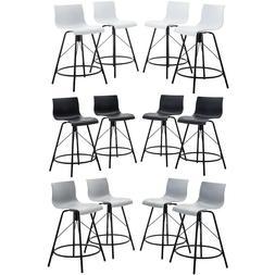 Set of 4 Modern Bar Stools Dinning Chairs Counter Height Bar