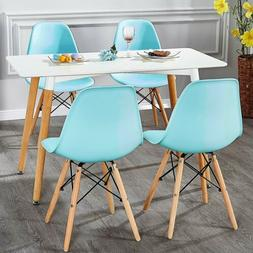 VECELO Set of 4 Side Dining Chairs Side Chair Lounge Chair f